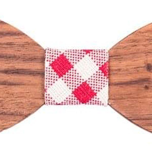 Dřevěný motýlek I2
