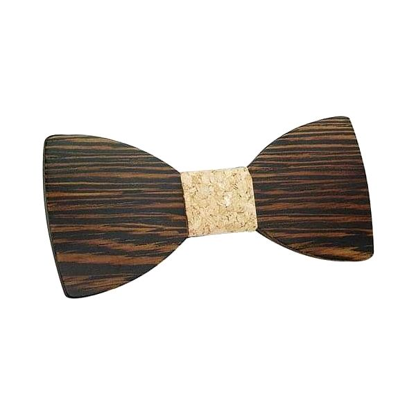 Dřevěný motýlek I3