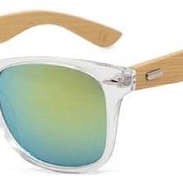 Dřevěné sluneční brýle III4