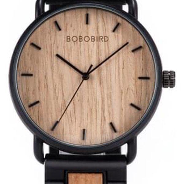 Dřevěné hodinky Bobo Bird