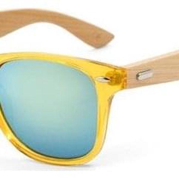 Dřevěné sluneční brýle III5