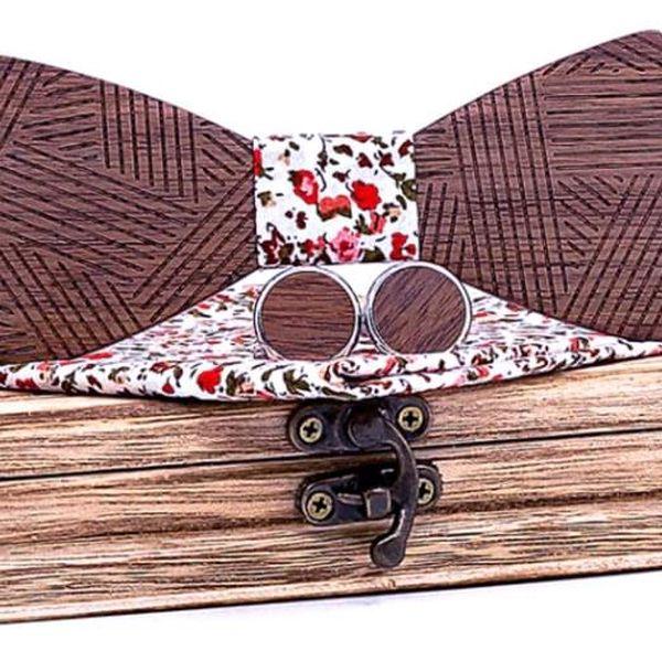 Dřevěný motýlek XIII2