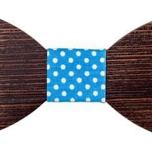Dřevěný motýlek I4