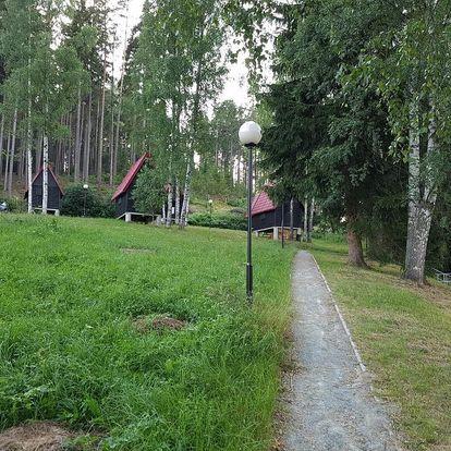Krásy Broumovska: Chatky Skalní mlýn Adršpach