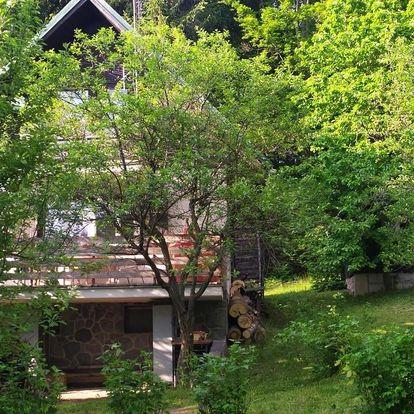 Zlínský kraj: Chata na Poskle u lesa s výhledem