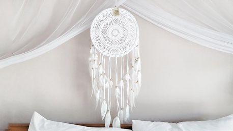Pro klidné spaní: ručně vyráběný lapač snů z Bali