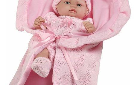 Berbesa miminko Valentina 28cm Růžová