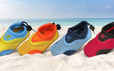 Neoprenové boty do vody pro děti i dospělé