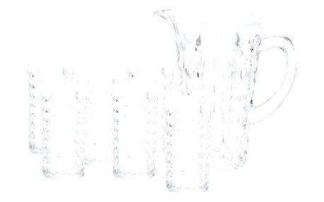 Sada džbánu a 6 sklenic