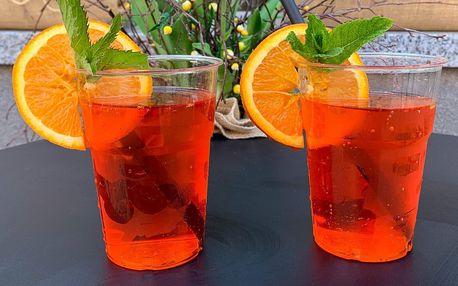 Chlazený vinný nápoj Spritz pro 1 osobu