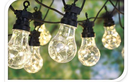 Koopman Světelný řetěz Bulbs, 80 LED