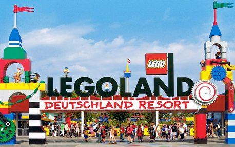Výlet do Legolandu: doprava a vstup na atrakce