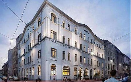 Pobyt v centru Budapešti v nově otevřeném A & O Budapest City se snídaní