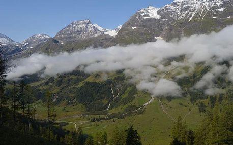 Ledovce, přehrady a jezera v okolí Grossglockneru s kartou