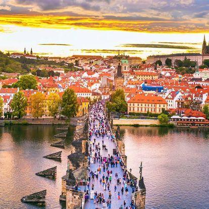 Romantika v srdci Staré Prahy pro dva se snídaní