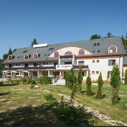Letní aqua relax s privátním wellness a vstupem do bazénu v nádherném prostředí Volovských vrchů
