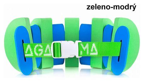 Plavecký pás AGAMA Swim 11 dílů - zeleno-modrý