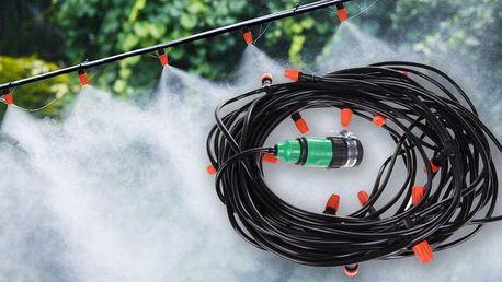 Venkovní chladicí systém: vodní mlha s 10 tryskami