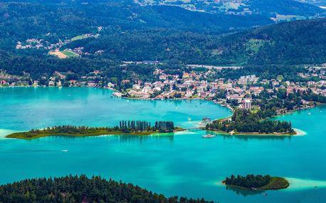 4* Hotel Atrigon u jezera Wörthersee se snídaní
