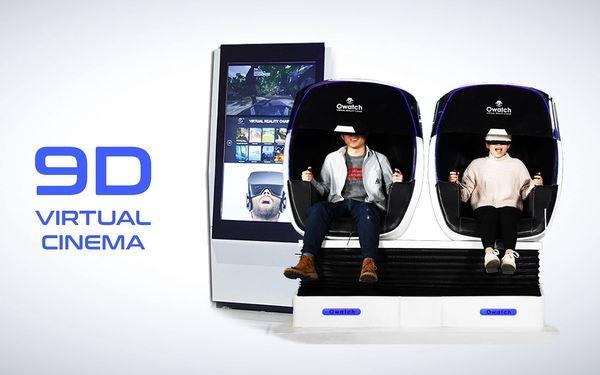 Vstup na libovolný film v 9D virtuálním kině