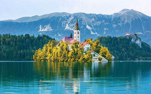 Slovinsko: Pobyt blízko krásného Národního parku Triglav a jezera Bled v Hotelu Grajski dvor s plnou penzí