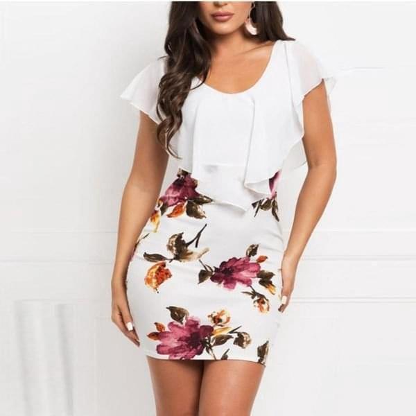 Letní šaty Merrilyn b-velikost č. 4 - dodání do 2 dnů