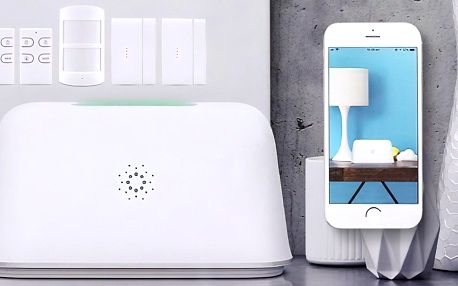 Jednoduše nastavitelný Wi-Fi alarm Chuango