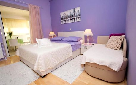 Chorvatsko, Makarská riviéra: Villa Palma Apartments