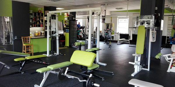 Měsíční permanentka na fitness pro 1 osobu4