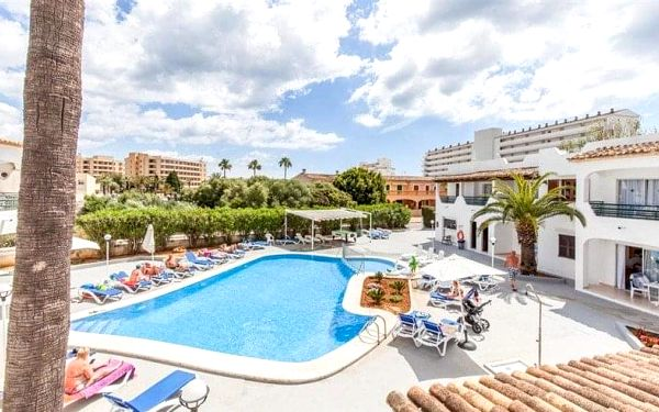 BLUESEA Gran Playa, Mallorca, Španělsko, Mallorca, letecky, polopenze3