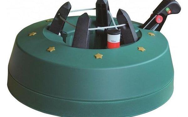 Stojan na vánoční stromek s pedálem Comfort XL - zelená