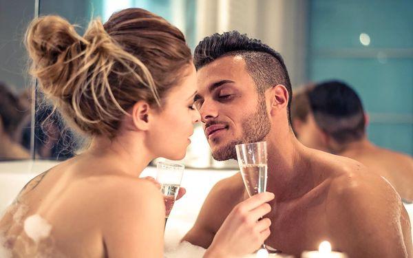 Romantika pro dva v apartmánu s privátní vířivkou