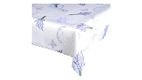 Forbyt Ubrus s nešpinivou úpravou Levandule modrá, 120 x 140 cm