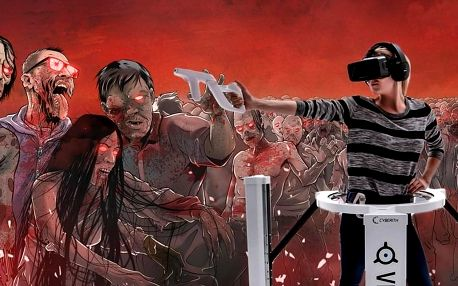 Zombie ostrov: Adrenalinová VR střílečka