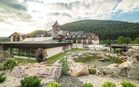 Village Resort Hanuliak**** nedaleko Terchové s neomezeným wellness a polopenzí