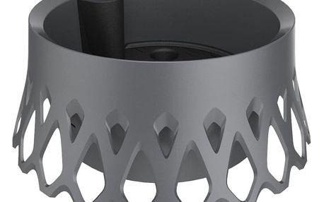 Plastia Samozavlažovací žardina Roseta - 30 cm antracit