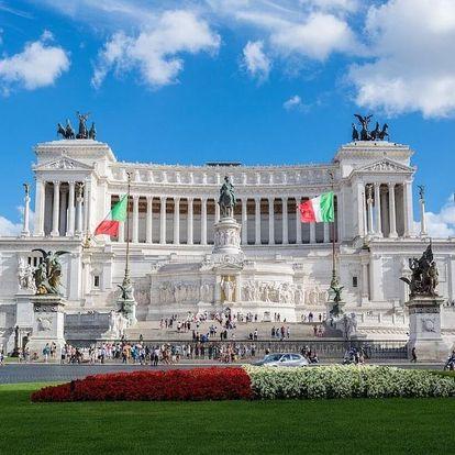 Ubytování v centru Říma, nádherné památky & vynikající italská kuchyně 3 dny / 2 noci, 2 os., snídaně