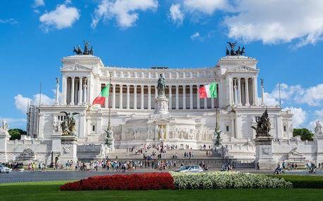 Ubytování v centru Říma, nádherné památky & vynikající italská kuchyně 3 dny / 2 noci, 2 osoby, snídaně