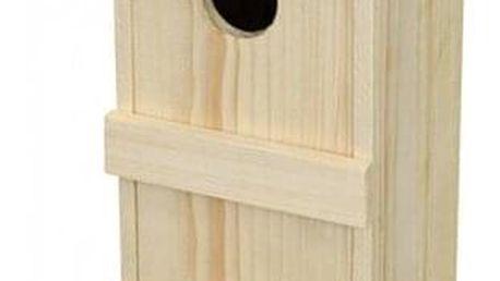Dřevěná ptačí budka Špačkovník Č.8, 26 x 16 x 15,5 cm