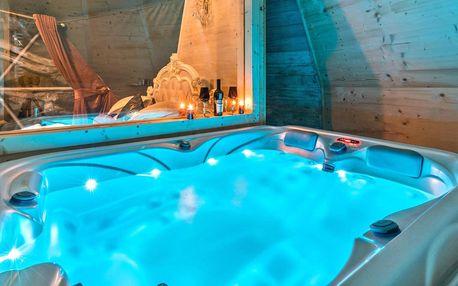 Glamping u Zakopaného: luxus s vlastní vířivkou