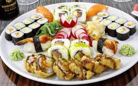 50% sleva na kompletně celé menu Sushi Miomi
