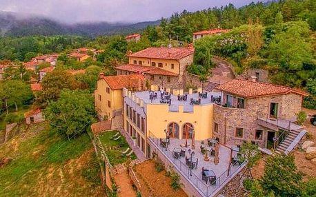 Toskánsko v objetí přírody v Hotelu Borgo I Tre Baroni **** s venkovním panoramatickým bazénem + snídaně