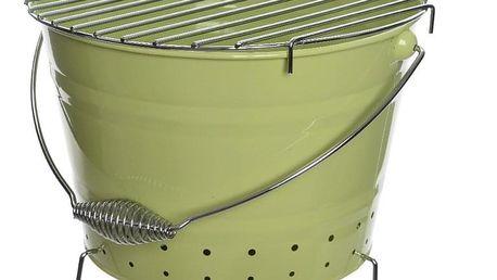 BBQ gril zelená, pr. 27 cm