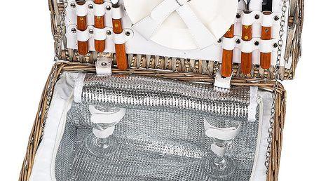 Piknikový koš pro 2 osoby s termoboxem