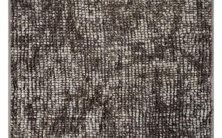 AmeliaHome Koupelnová předložka Bati hnědá, 60 x 90 cm