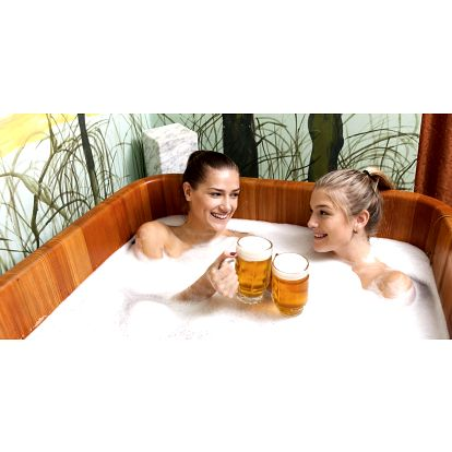 2 hod. v pivních lázních: koupel, sauna i pivo