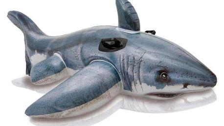 Nafukovací žralok INTEX s úchyty 173 x 107 cm