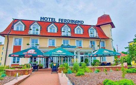 Mariánské Lázně: Relaxační pobyt v Hotelu Ferdinand *** s až 5 procedurami, welcome drinkem a polopenzí