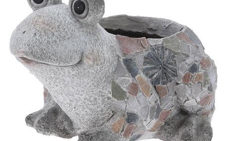 Obal na květináč Žába, MGO, 33,5 x 28,5 x 23 cm