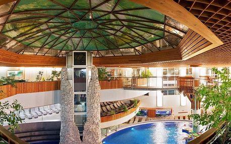 Zalakaros, atraktivní hotel Mendan**** s neomezeným vstupem do termálního wellness